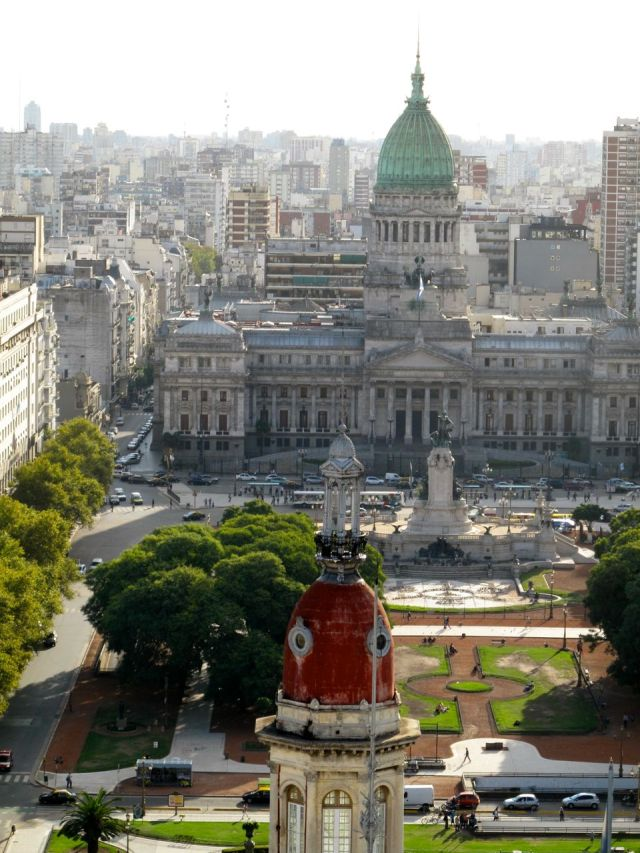 Argentine congress buildings