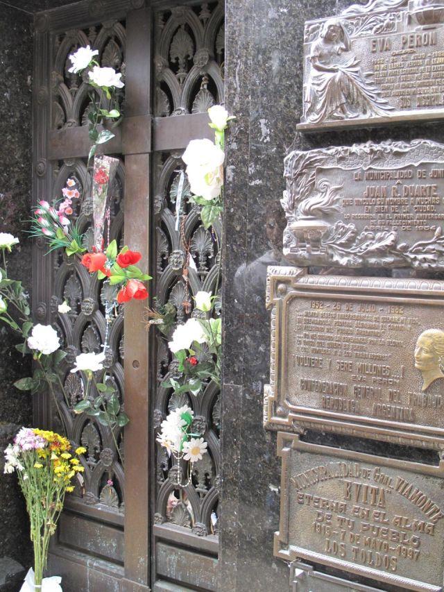 Eva Duarte mausoleum