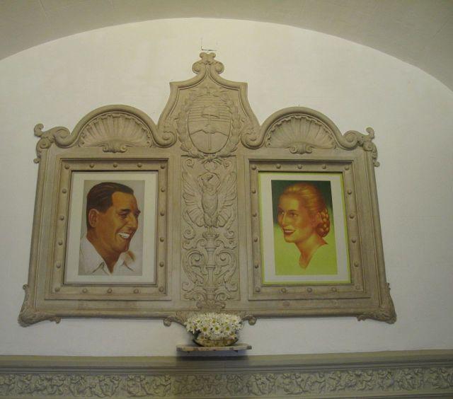 Shrine to Evita