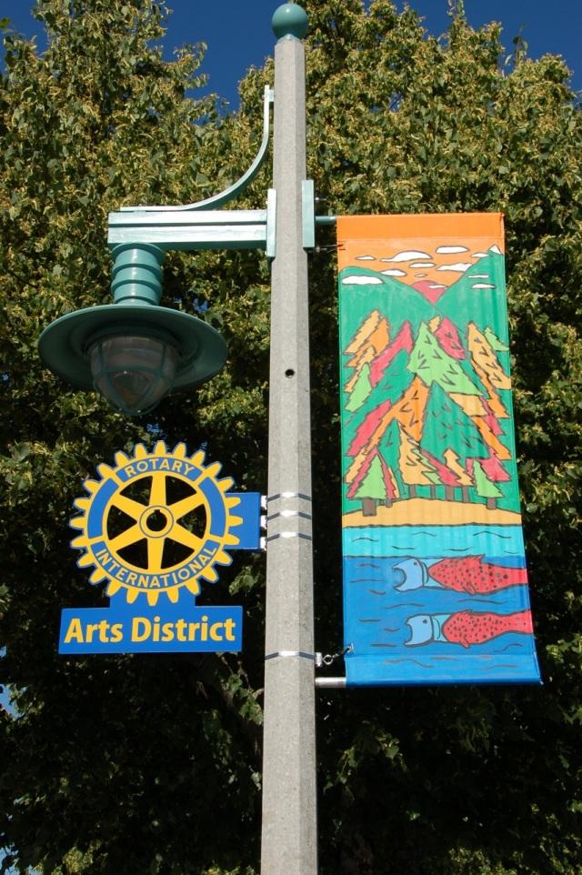 PA Arts sign