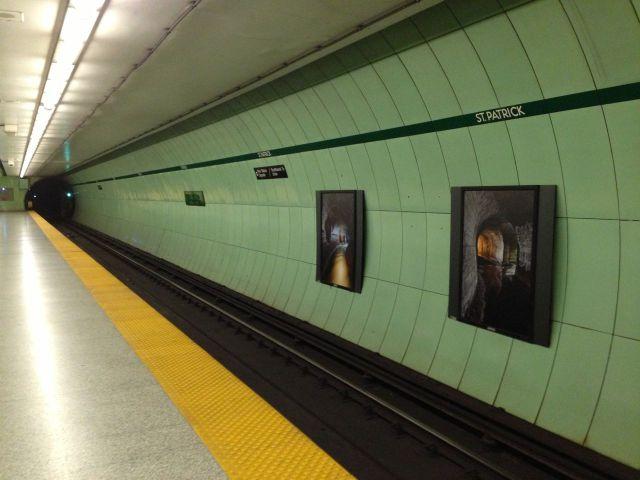 Long subway shot
