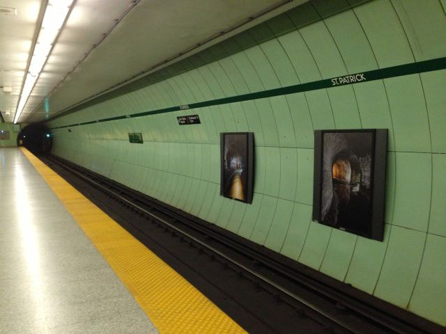 Long subway shot