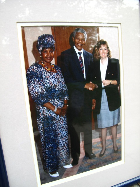 Winnie, Mandela and me