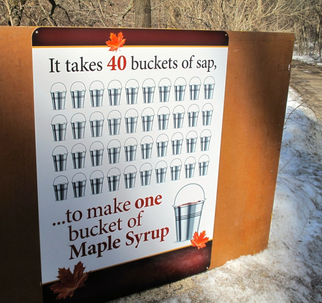 40 buckets