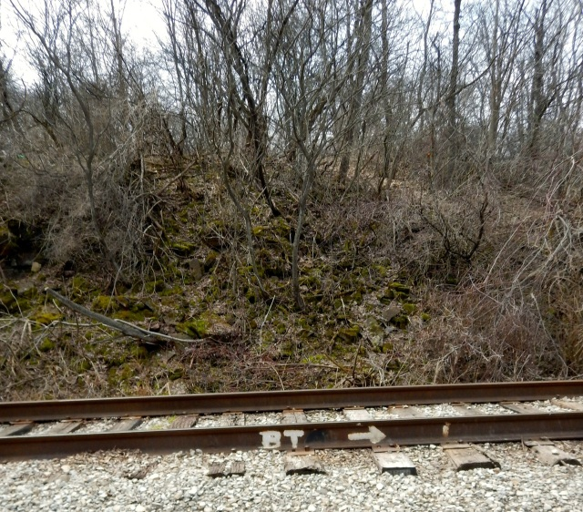 Spot the Brice Trail marker?