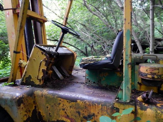 Abandonned machine