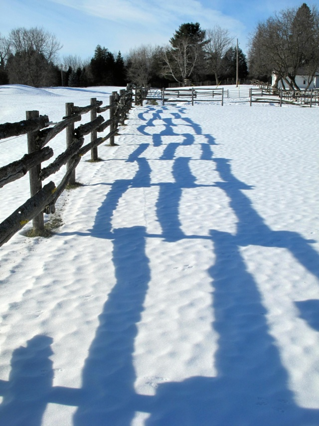 Solstice shadows